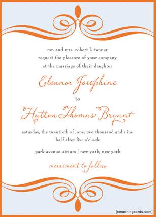wedding invitation in spanish, Wedding invitations