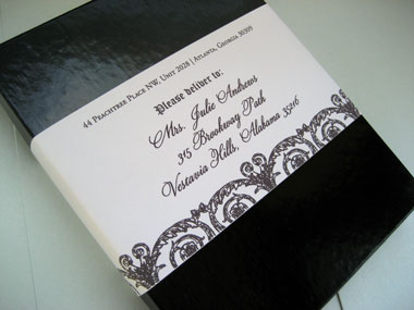 In Addition To The Invitations We Also Created Coordinating Dinner Menus For Wedding Reception And Programs Ceremony